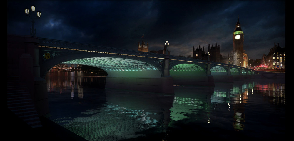 Illuminated River Westminster Bridge