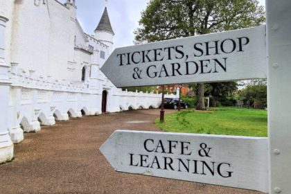Strawberry Hill House Cafe, museum cafe London