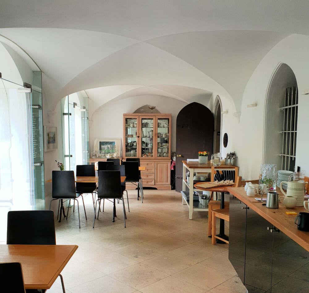 Museum café in London