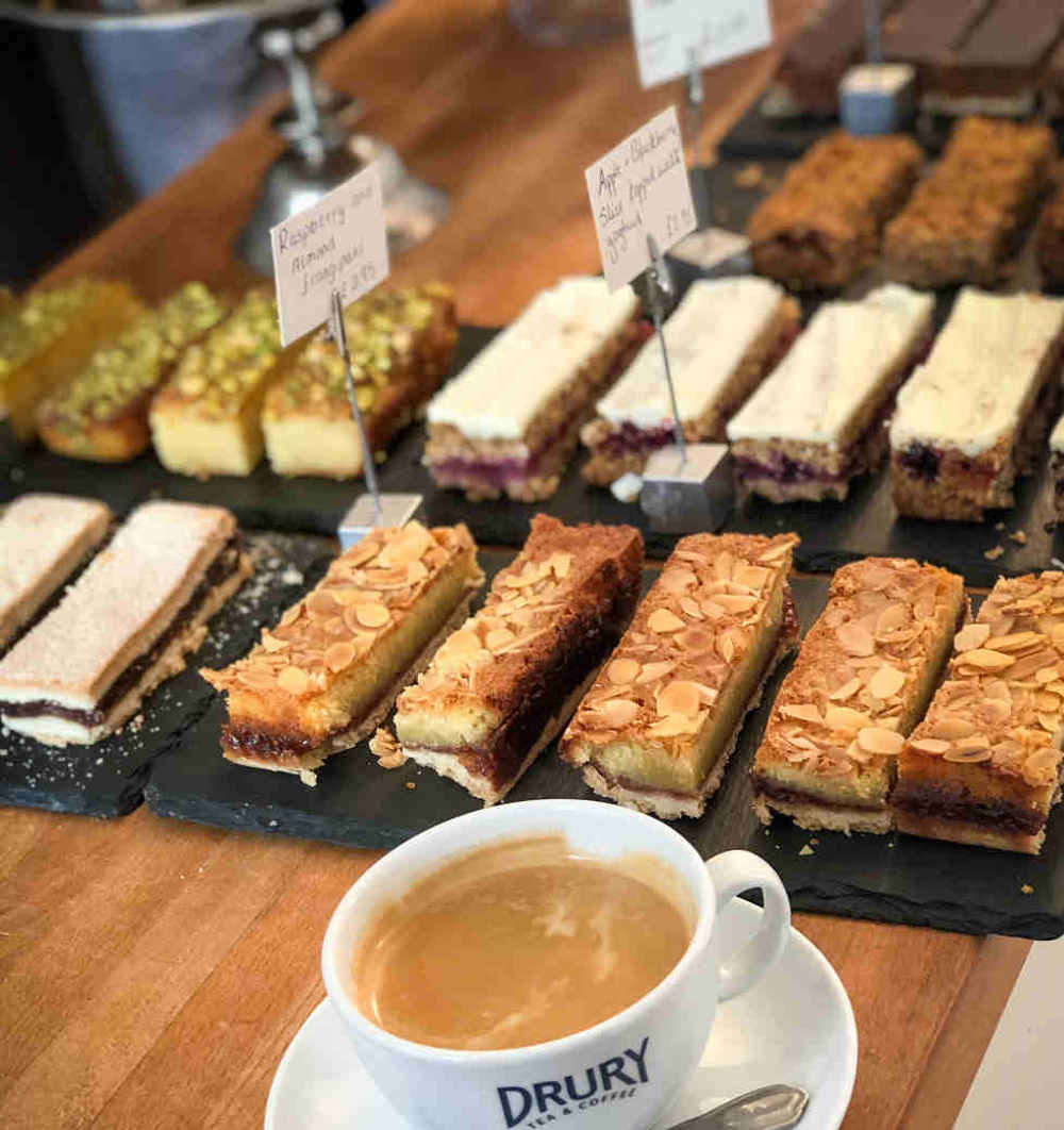 Strawberry Hill House Cafe, Gluten and dairy-free cake