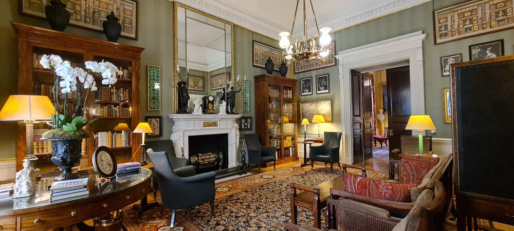 Spencer House Library, Henry holland